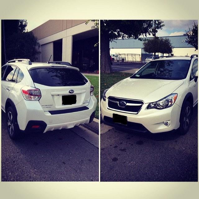 Hayden's Subaru