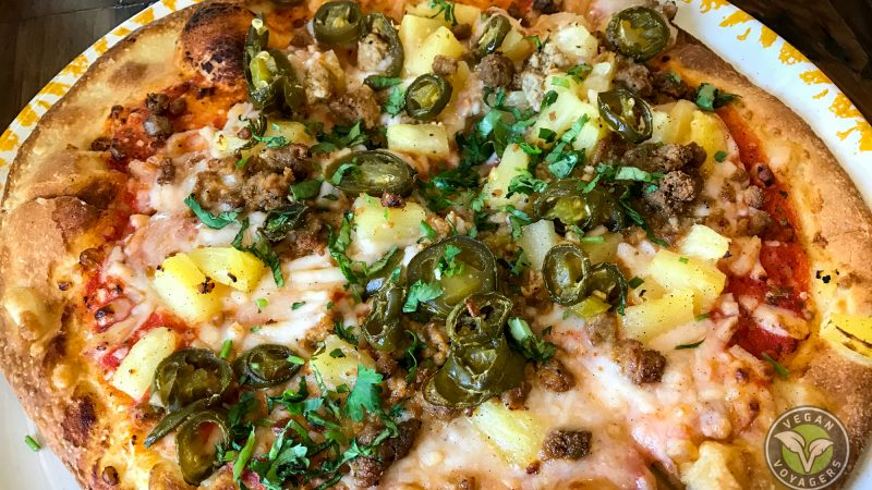 Picante Pineapple Pizza