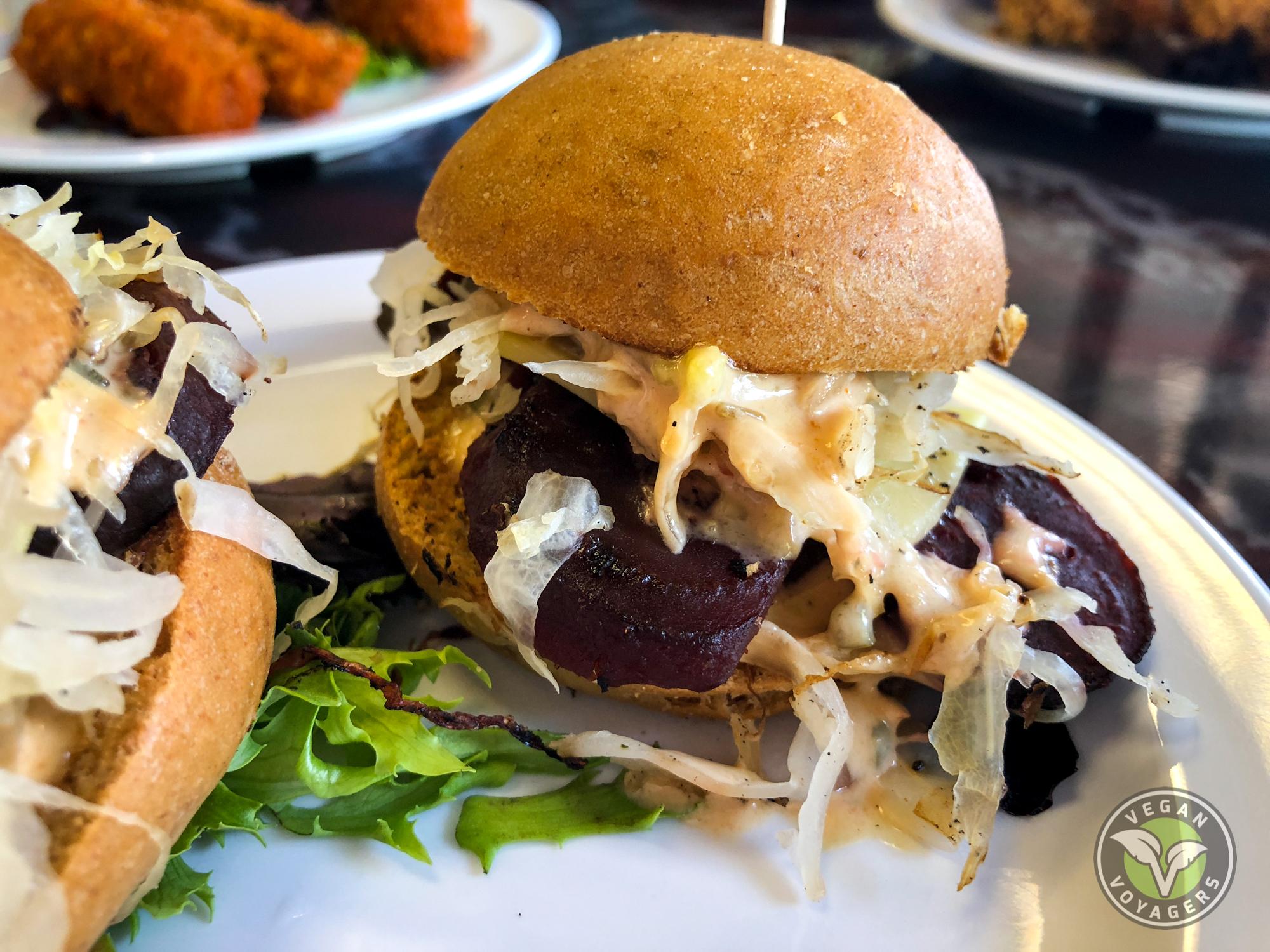 Sanctuary Vegan Cafe | The 7 Best Vegan Reubens in the United States