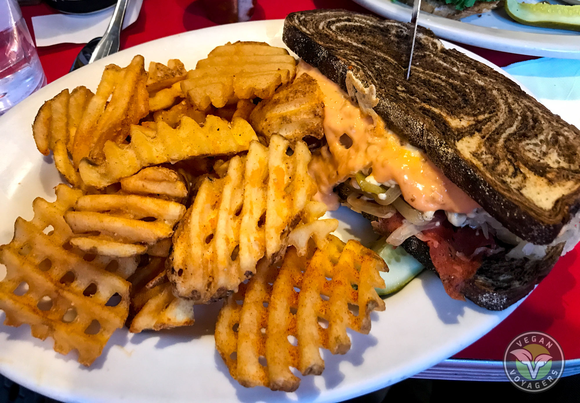 The Chicago Diner | The 7 Best Vegan Reubens in the United States