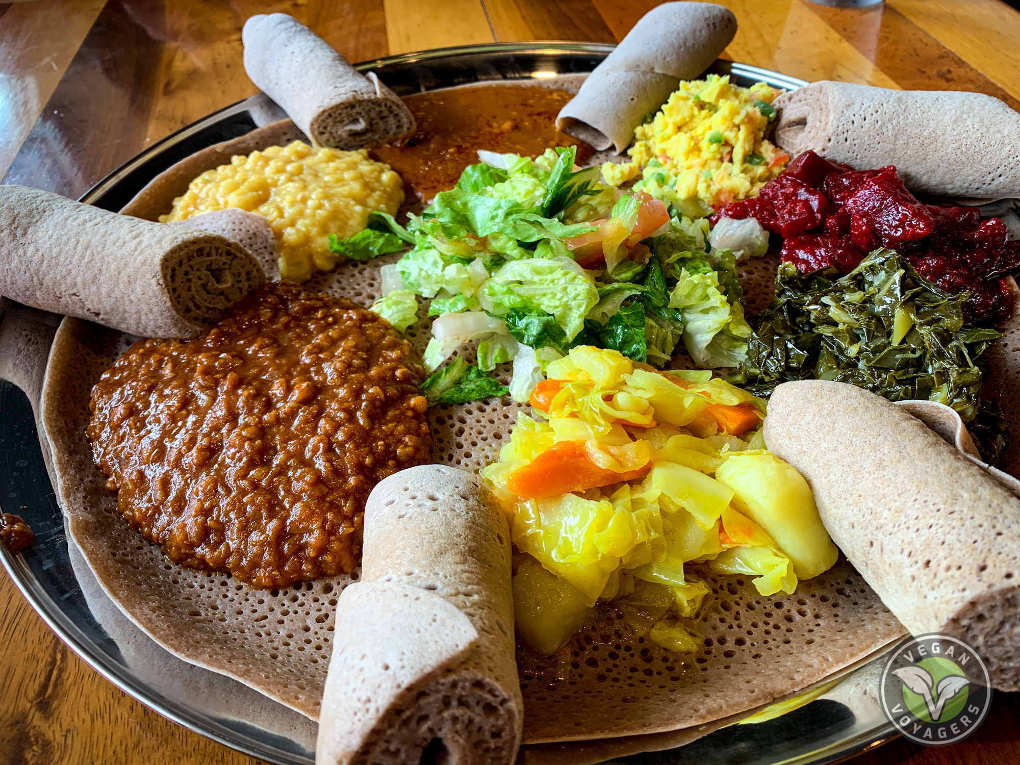 International Cuisine | Enat Kitchen | The Ultimate Vegan Guide to Portland, OR