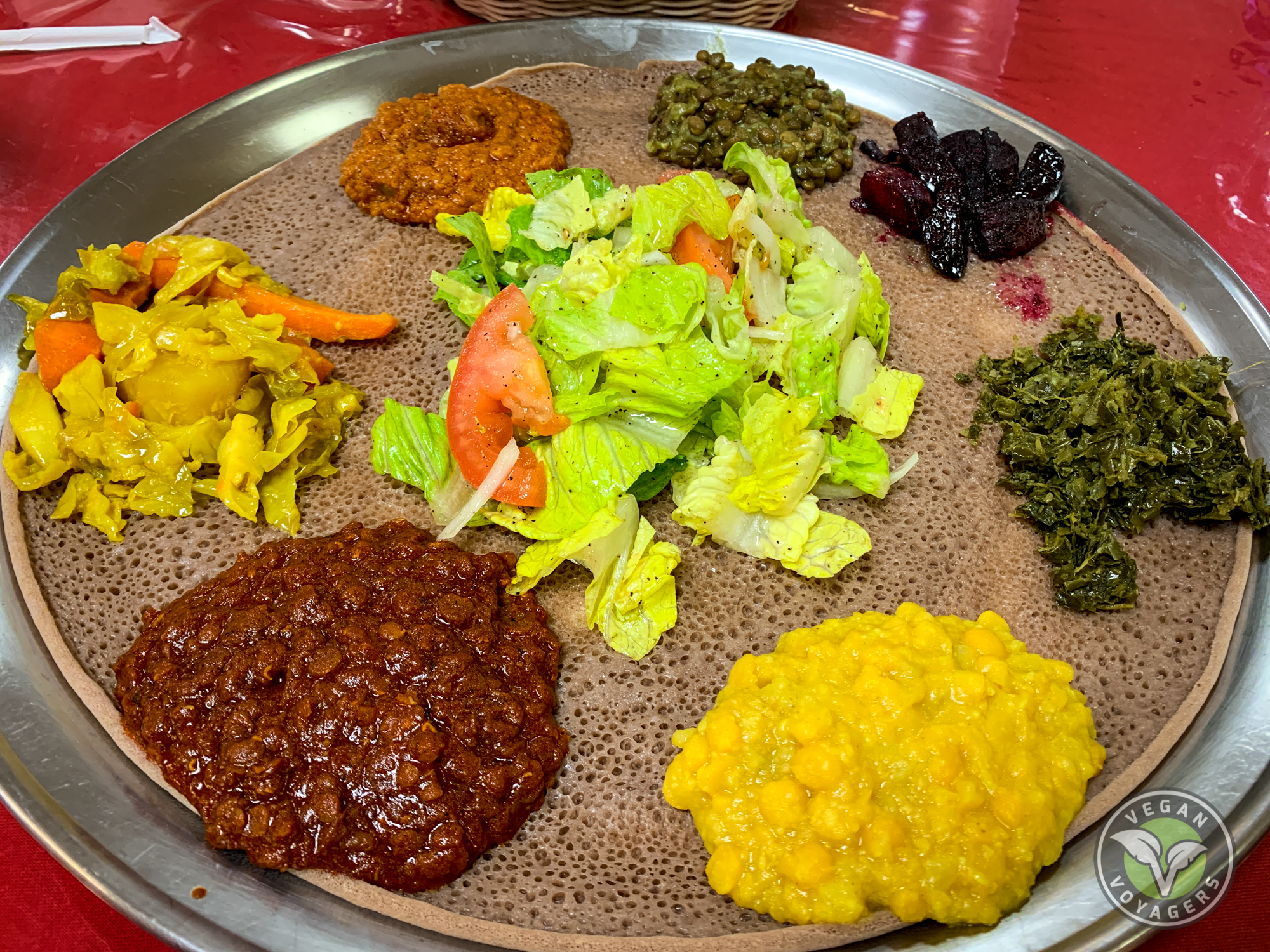 The Ultimate Vegan Guide to Las Vegas, NV | Lucy Ethiopian Restaurant
