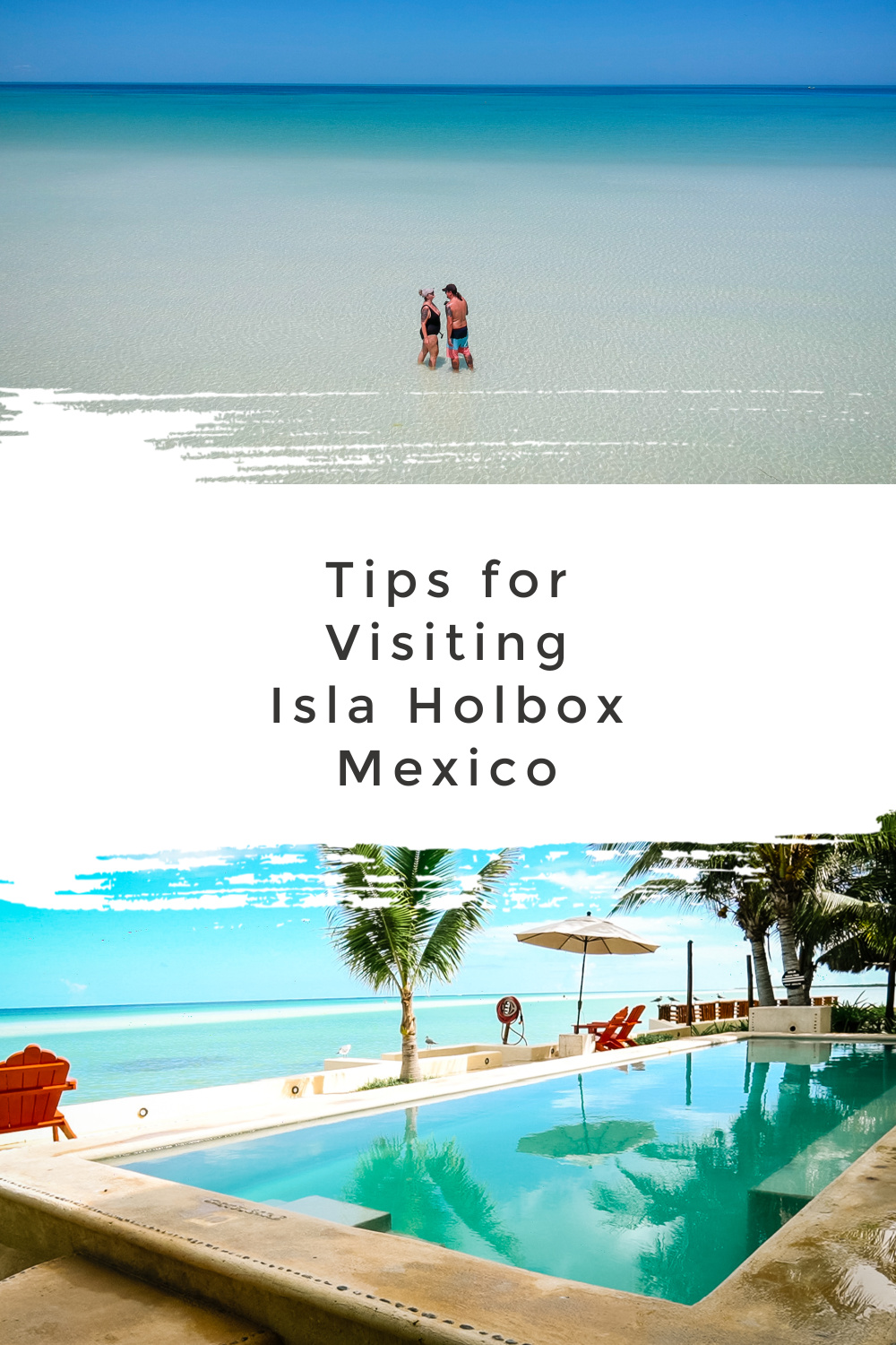 Pinterest image   Tips for Visiting Isla Holbox, Mexico